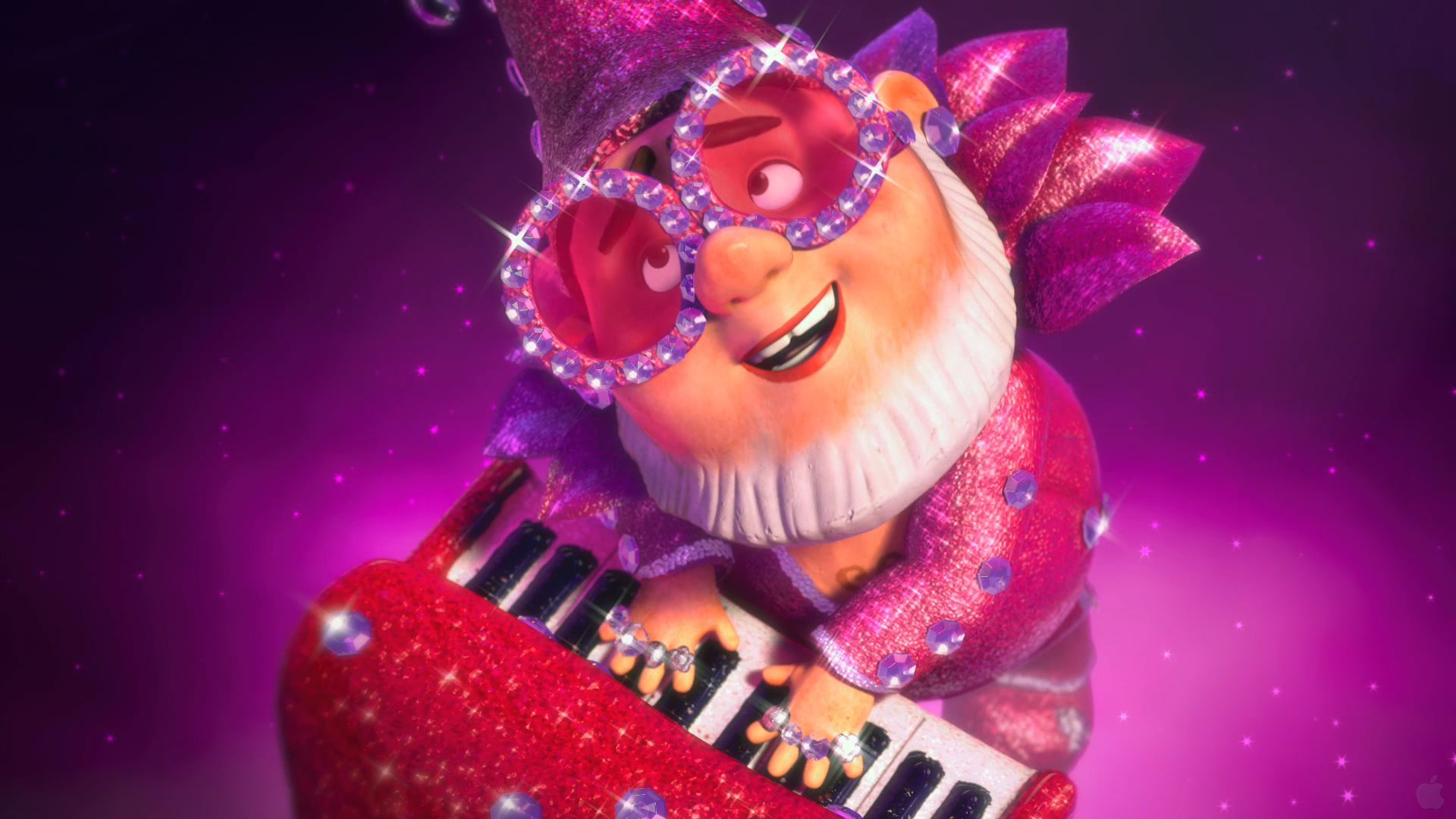 Elton John Lawn Gnome from Gnomeo and Juliet Desktop Wallpaper 1920x1080