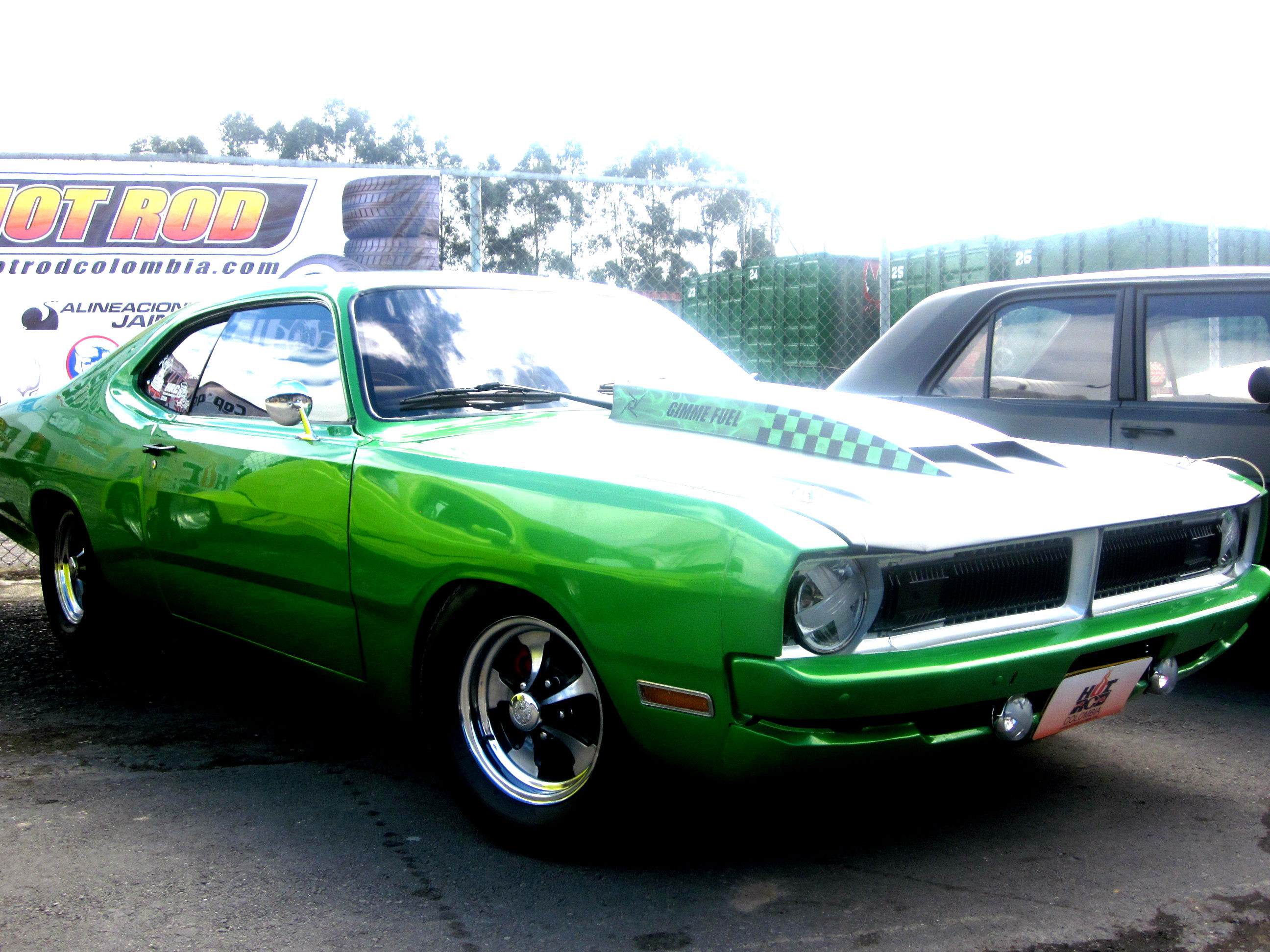 Dodge Demon muscle classic hot rod rods drag race racing g5 wallpaper 2592x1944