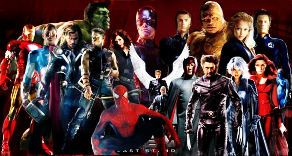 Marvel Cinematic Universe by yoyoMonika 1024x548