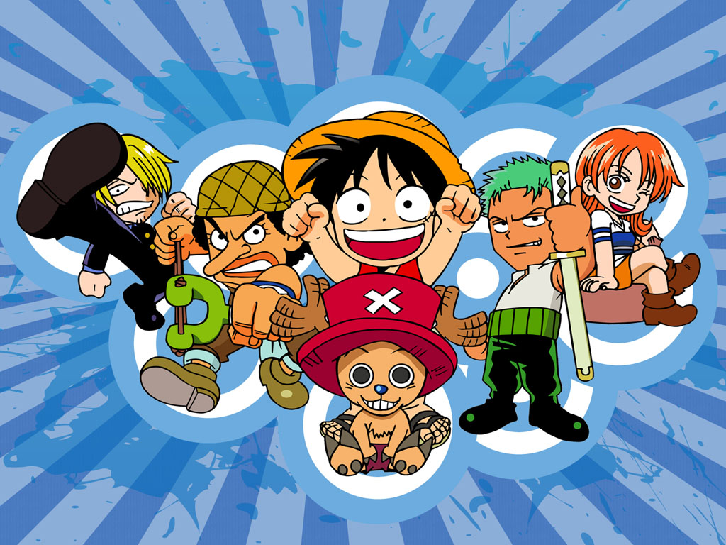 Posted in [One Piece Chibi]Wallpaper 1024x768