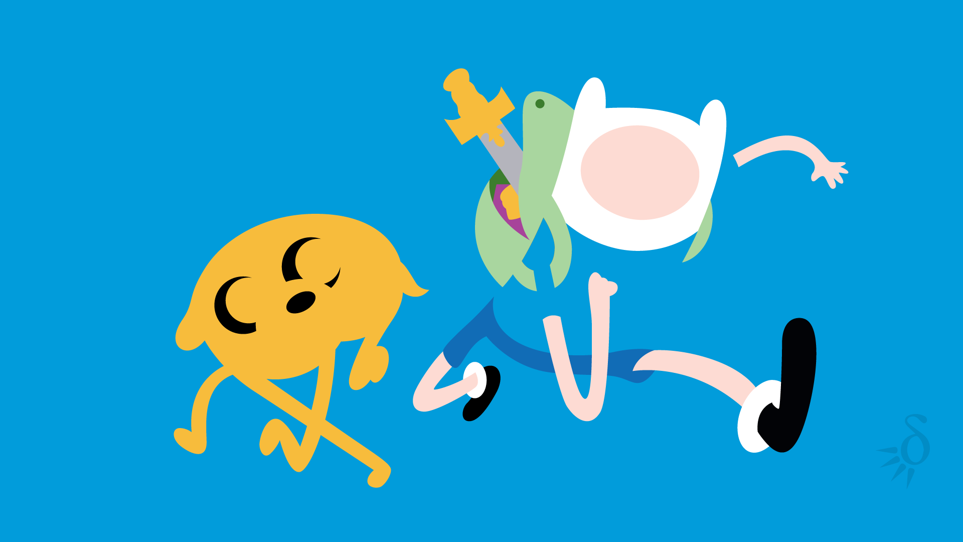 Adventure Time With Finn And Jake wallpaper   1141130 1920x1080