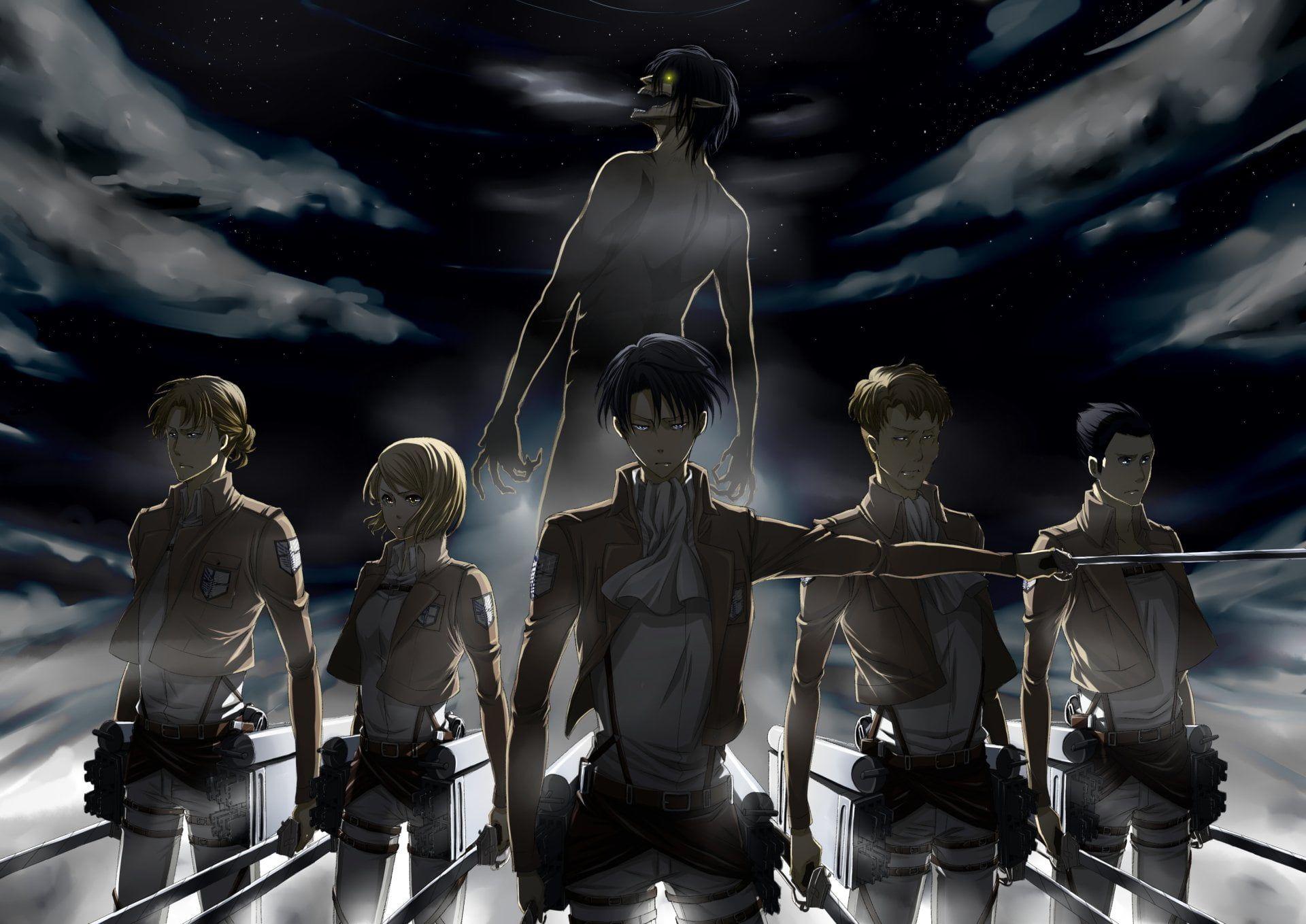 Attack of Titan wallpaper Anime Attack On Titan Attack on Titan 1920x1359