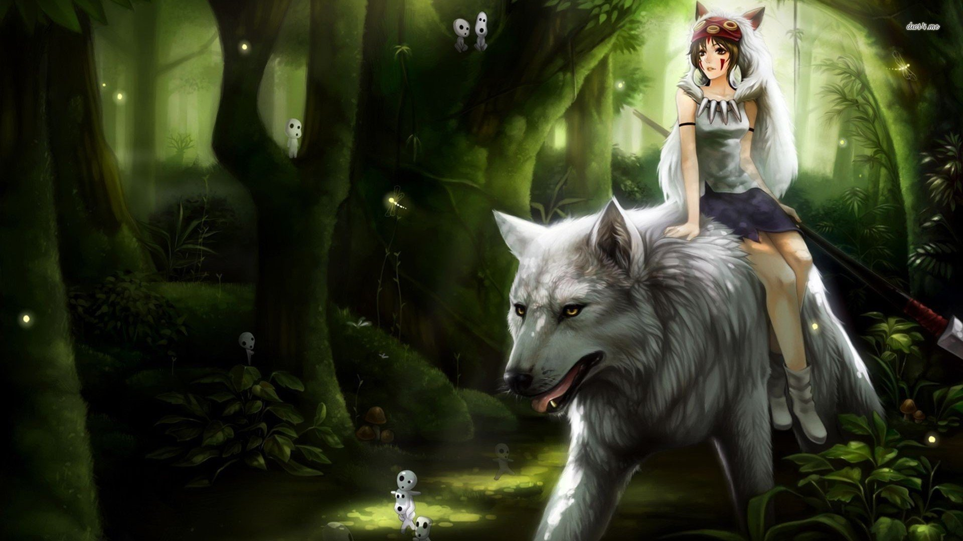 77 Princess Mononoke Wallpaper On Wallpapersafari