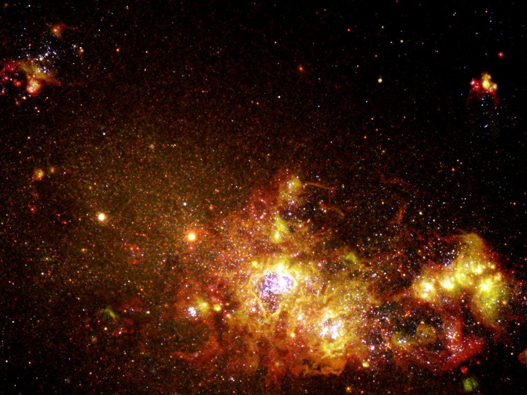 Deep Space wallpaper 1024x768