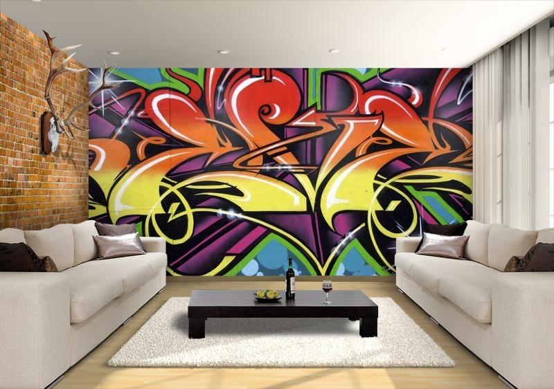 Graffiti Wallpaper For Walls Graffiti wallpaper custom 800x562