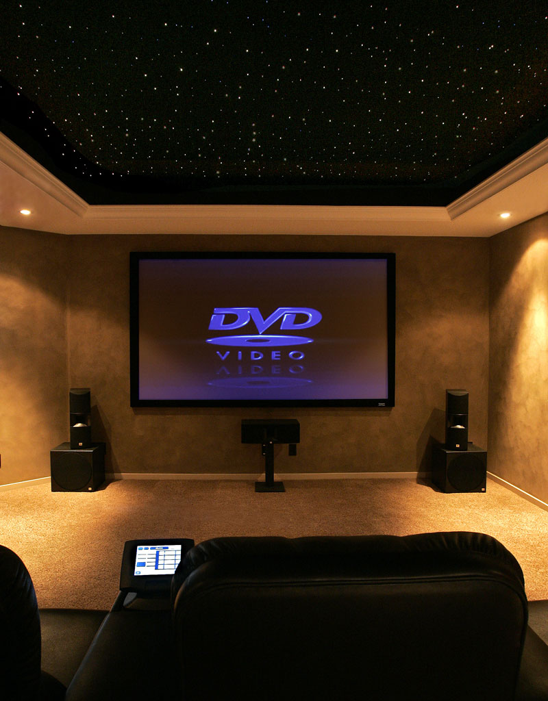Home Theater Or Home Theatre Is A Theater Built In A Home, Designed .