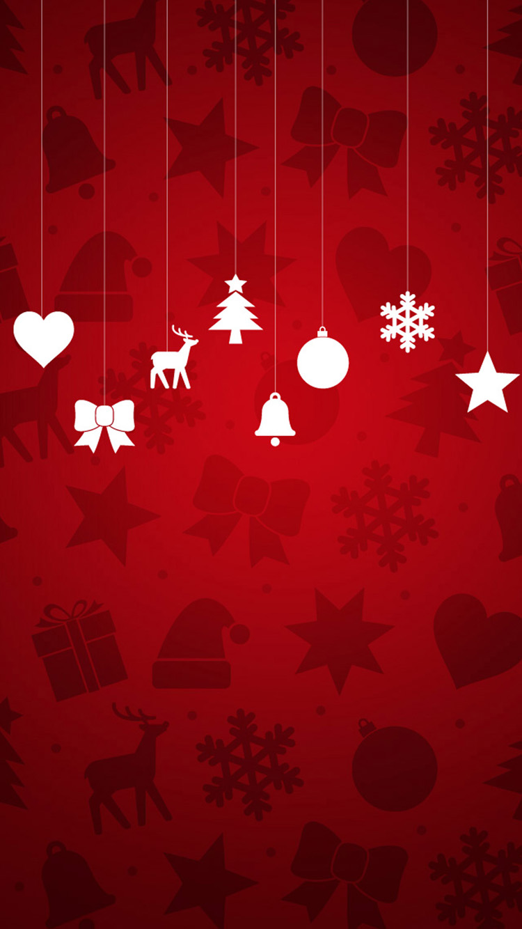 20 Christmas Wallpapers for iPhone 6s and iPhone 6 750x1334