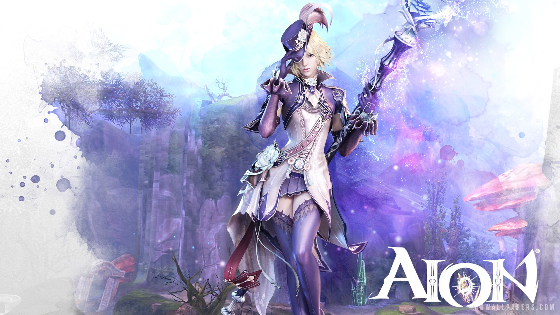 Aion Elyos Chanter 2 HD Wallpaper   iHD Wallpapers 1920x1080