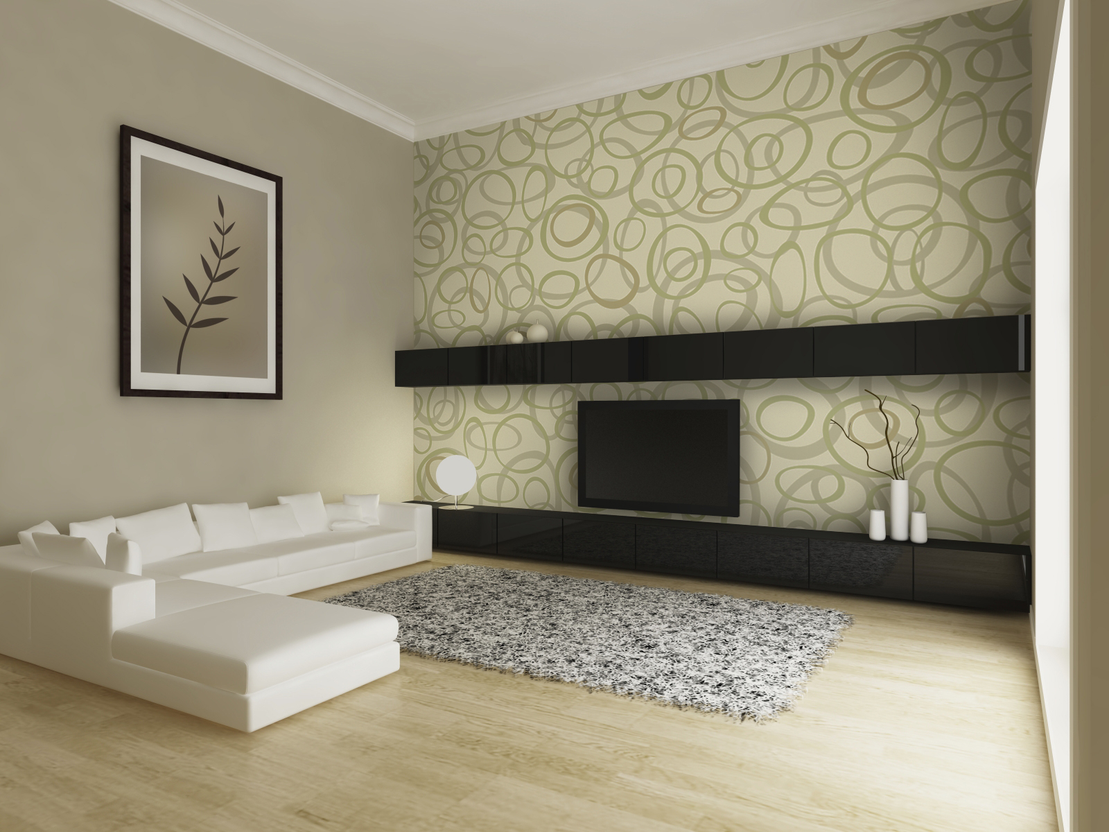Wallpaper interior design 1600x1200
