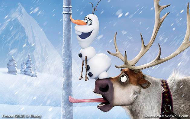 Olaf and Sven wallpaper BestMovieWalls by BestMovieWalls 629x394