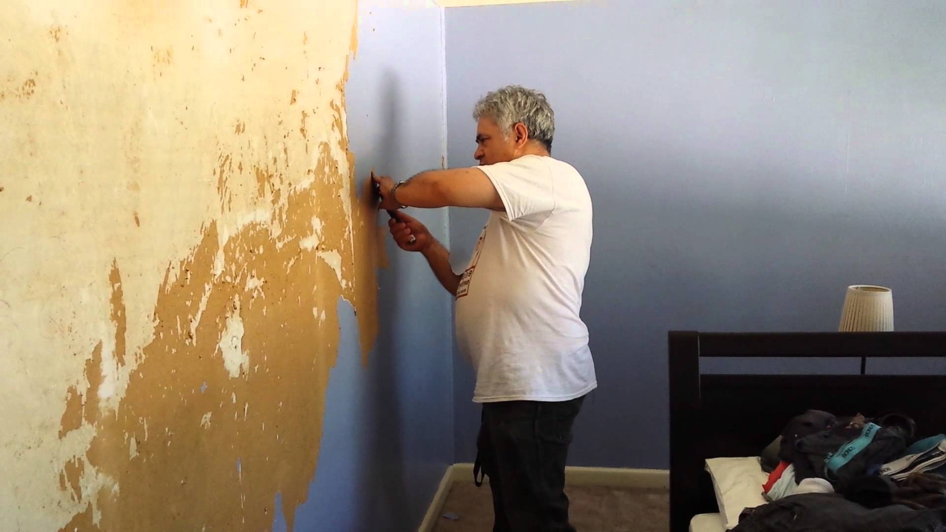How to remove wallpaper that was painted over Wallpaper removal 1920x1080