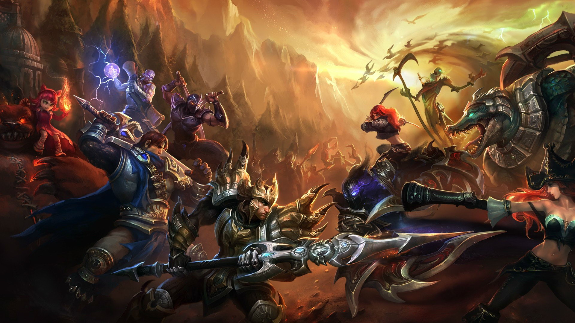 44 League Of Legend Wallpaper On Wallpapersafari