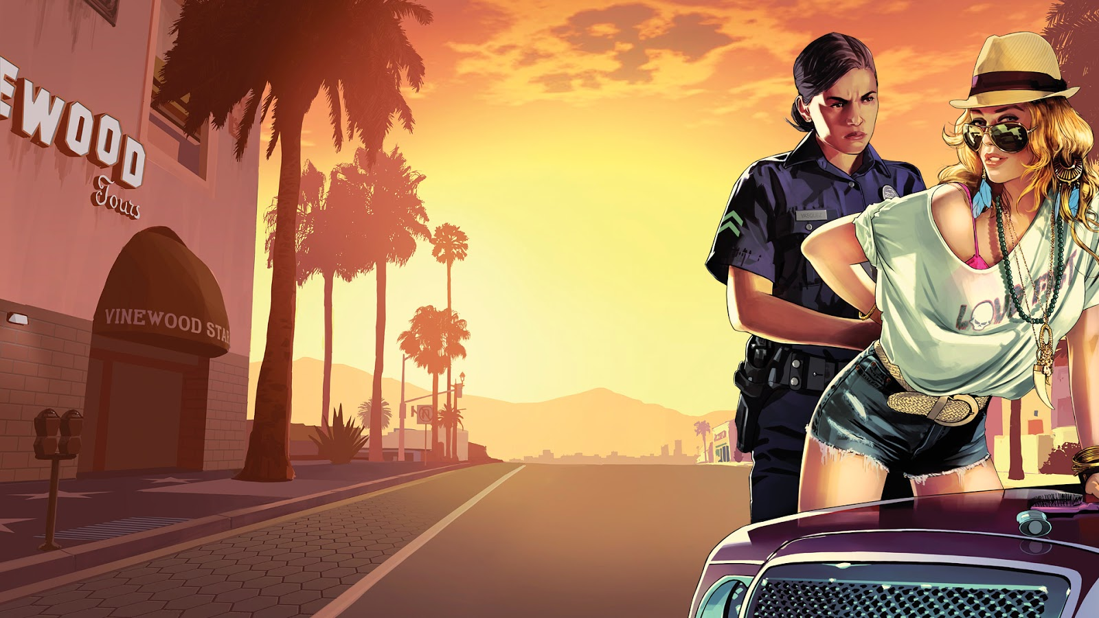 by LEAGUE OF FICTION Grand Theft Auto GTA 5 Desktop Wallpapers HD 1600x900