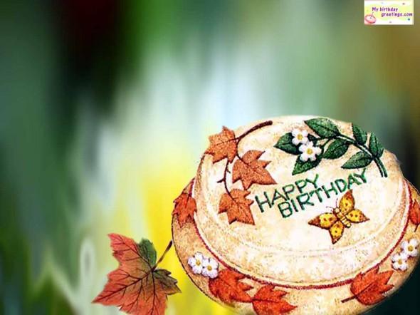 Happy birthday animated wallpaper Happy birthday animated wallpaper 590x442