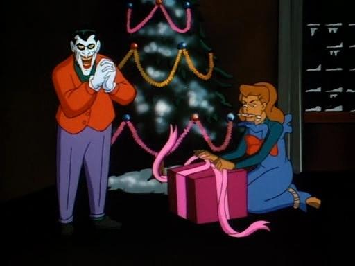 Batman Christmas with the Joker 512x384