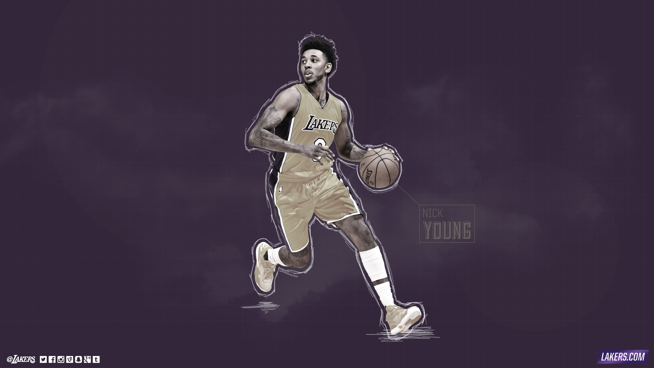 Lakers Wallpapers and Infographics Los Angeles Lakers 2560x1440