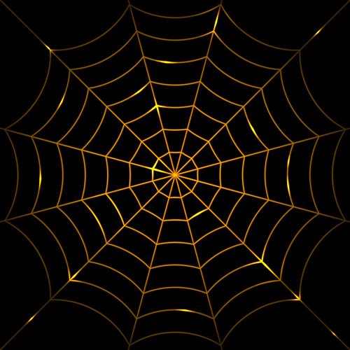 Vector spider web design background graphics 02   Vector Background 500x500