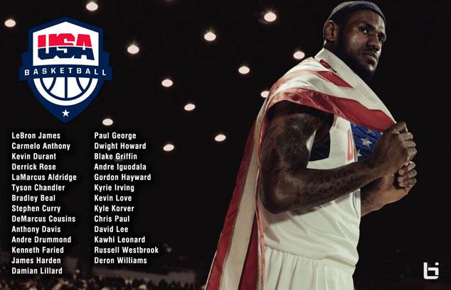 USA Basketball Announces 28 Man Roster SLAMonline 634x409