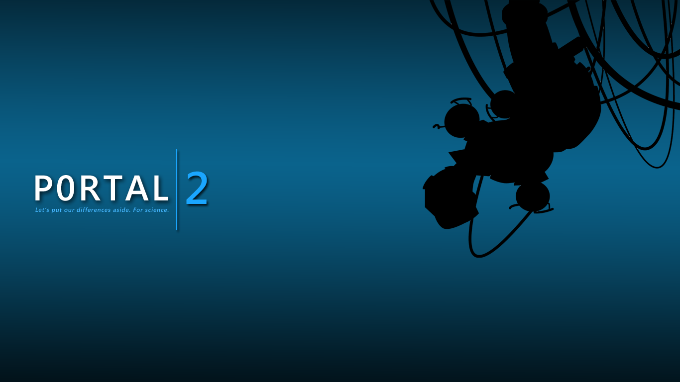 Top HD Wallpapers Portal 2 Xbox Wallpapers 1366x768