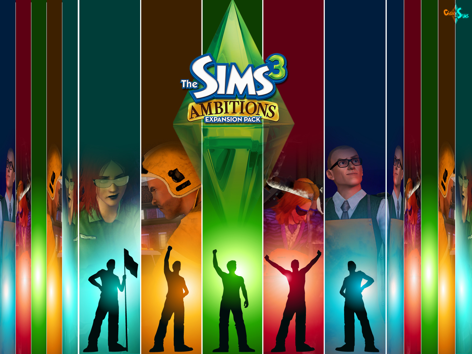 The sims 3 ambitions wallpaper   The Sims 3 Ambitions Wallpaper 1600x1200