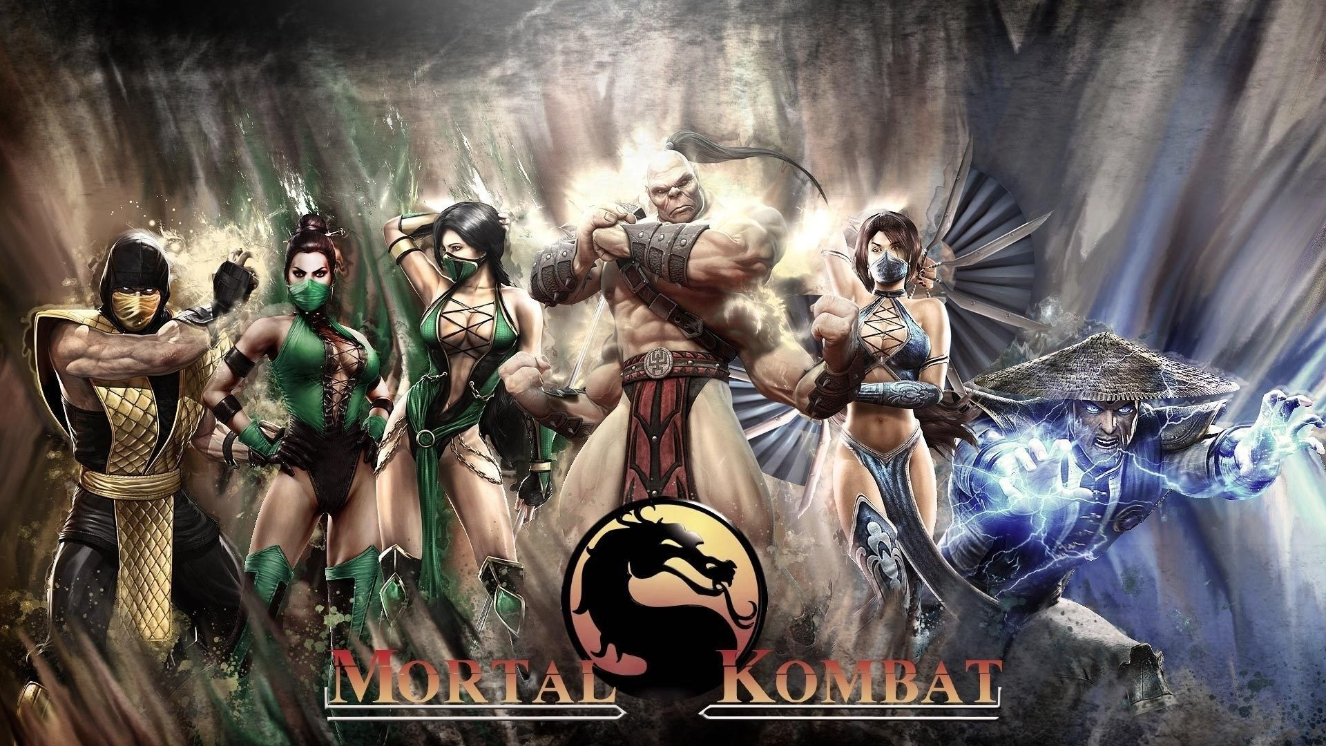 New Mortal Kombat Characters Name Game Faces Magic Wallpaper 1920x1080