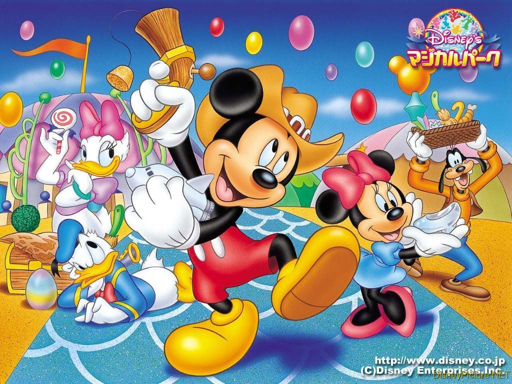 Mouse and Friends Wallpaper   Disney Wallpaper 6603915 1024x768