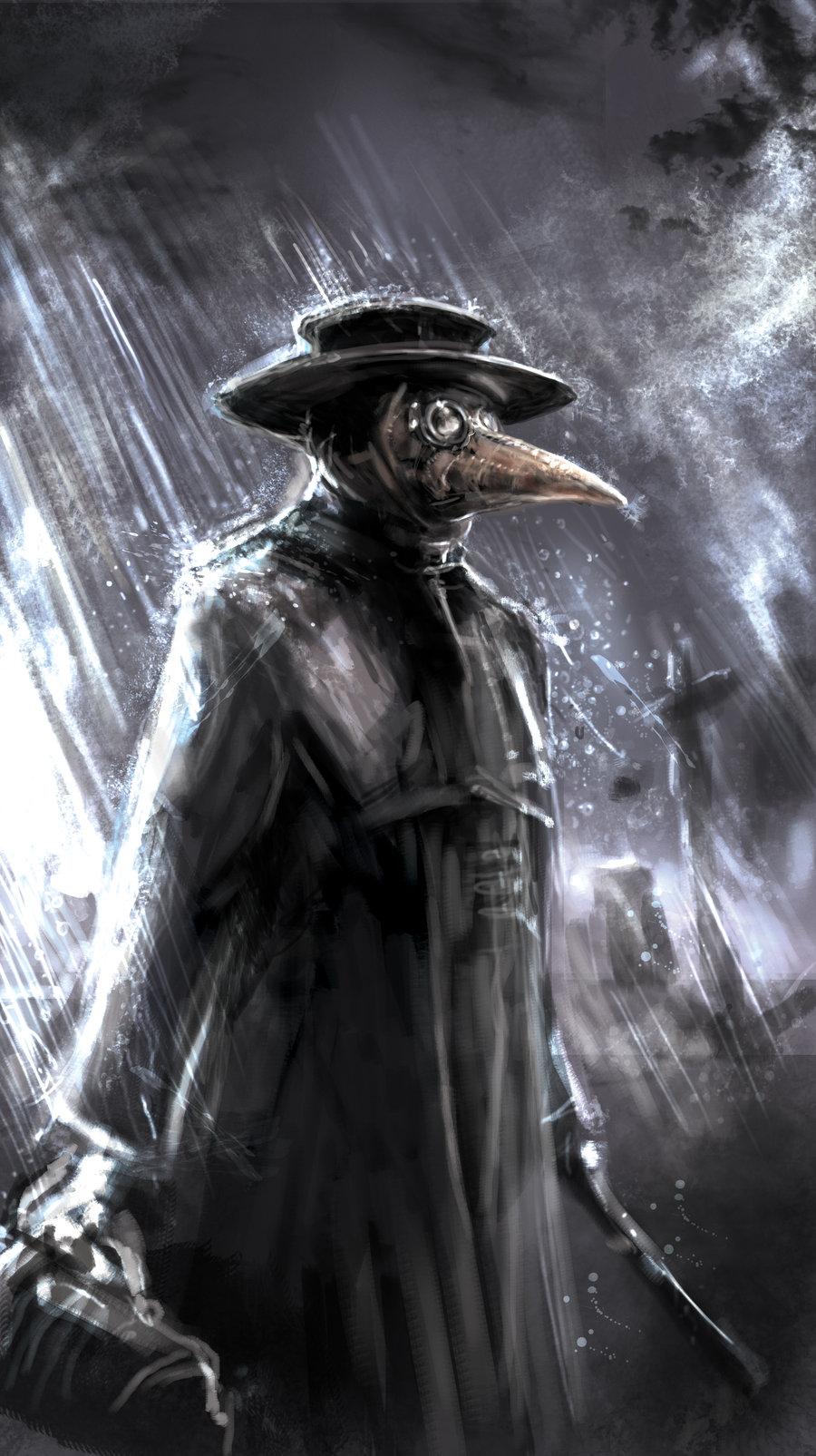 Plague Doctor Wallpaper 900x1605