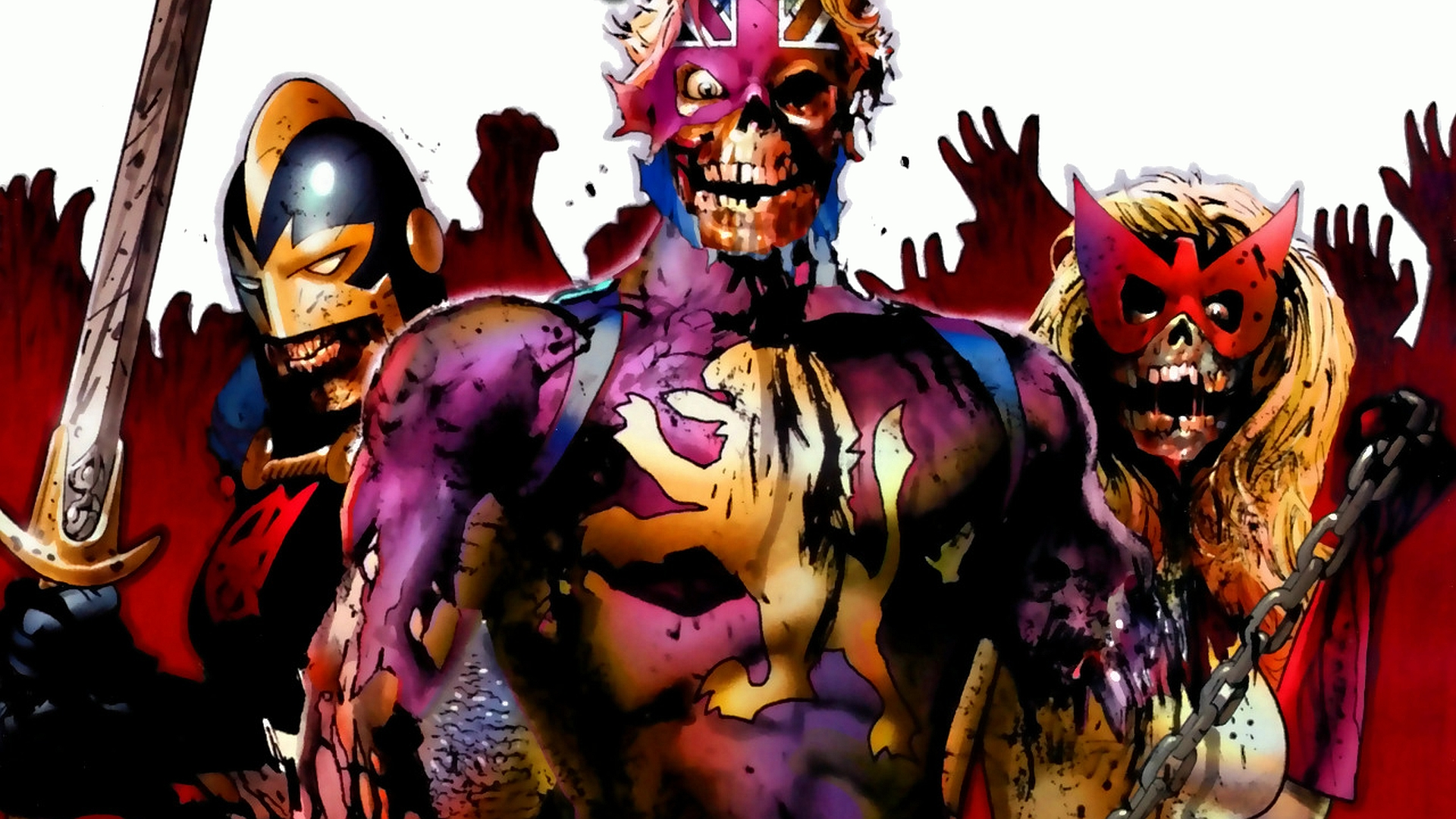 12 Marvel Zombies HD Wallpapers Backgrounds 1920x1080