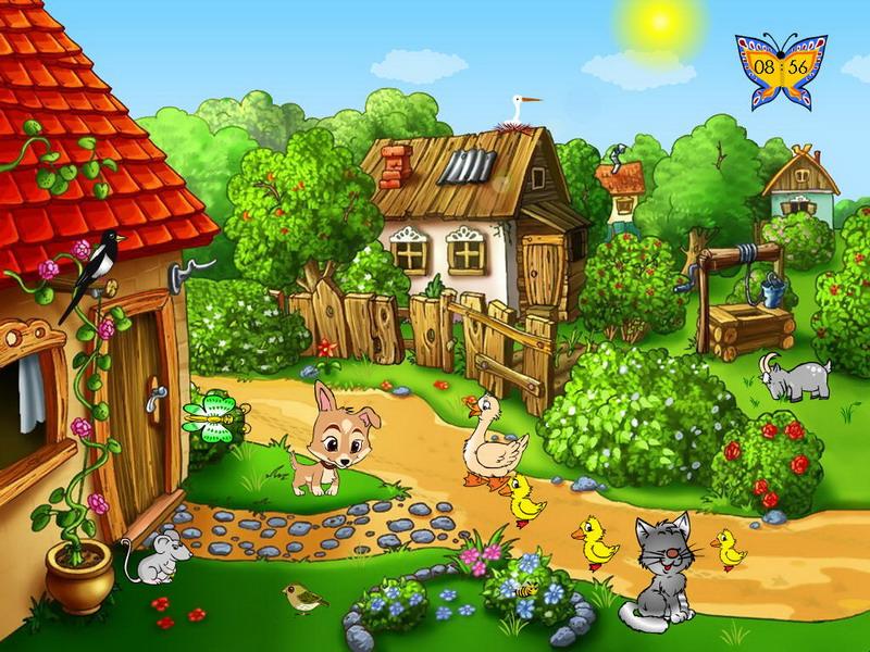 Download Summer Farm Screensaver 569 Mb 800x600