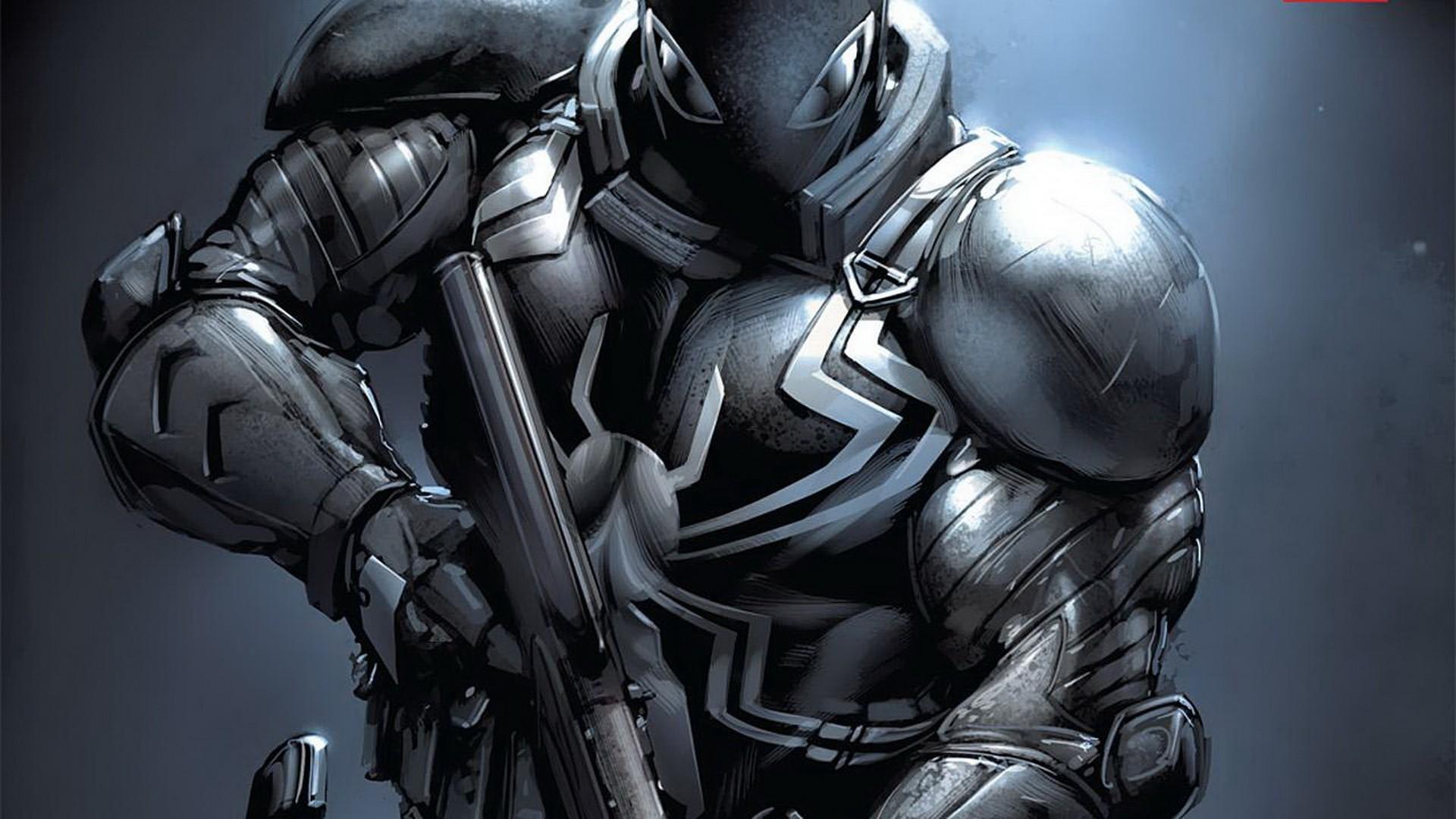 Anti Venom Marvel Wallpaper Agent venom 1920x1080