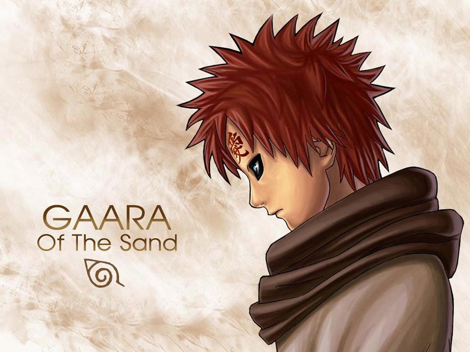 Download the Naruto anime wallpaper titled Naruto Gaara 1600x1200