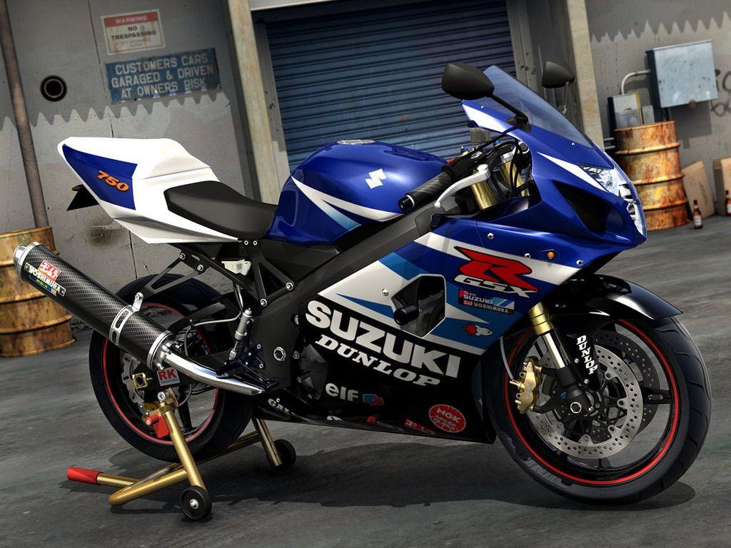 Papel de Parede Suzuki GSX R 750 Wallpapers Kboing 1024x768