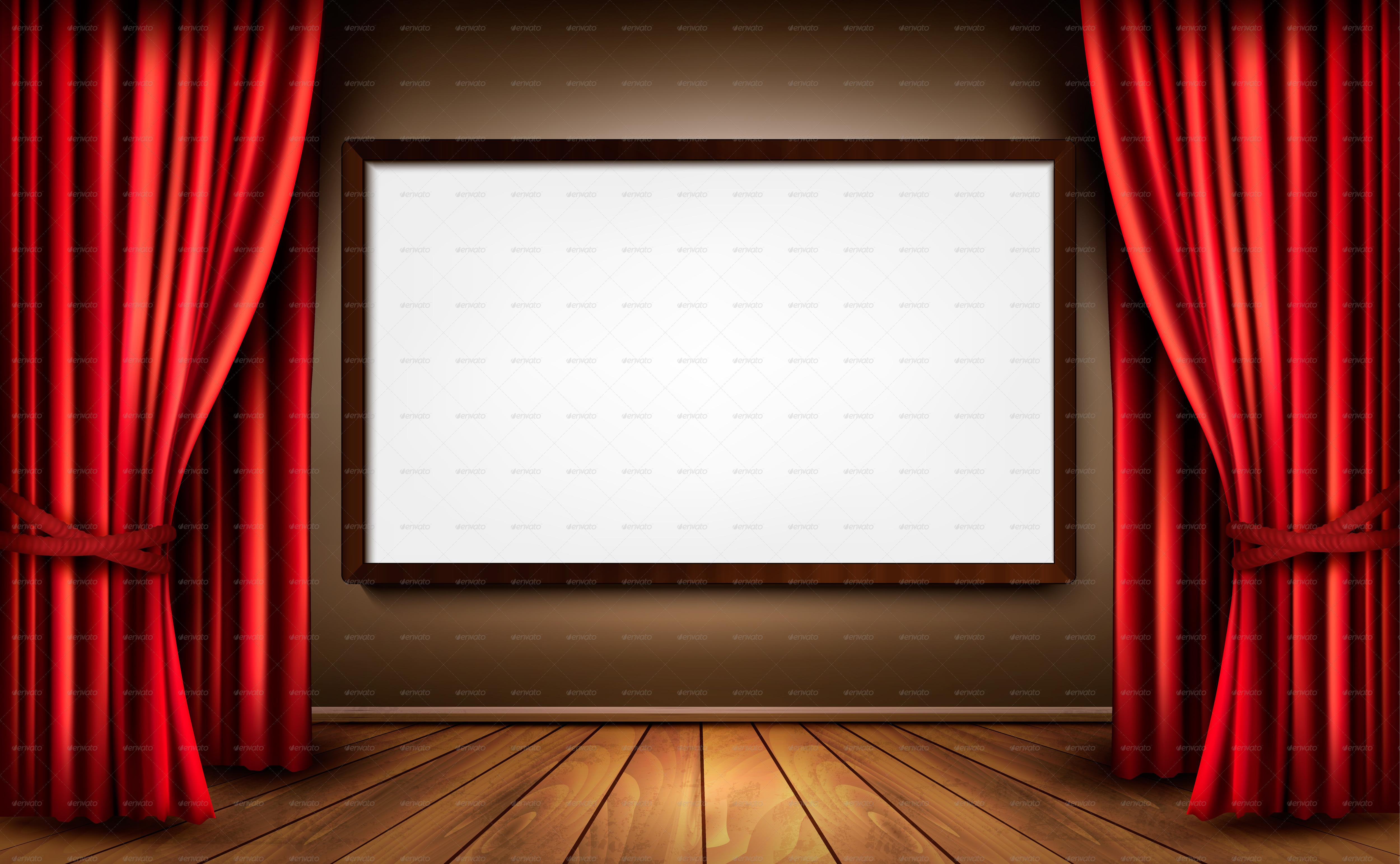 movie screen wallpaper wallpapersafari Theater Lights Clip Art stage lights clipart