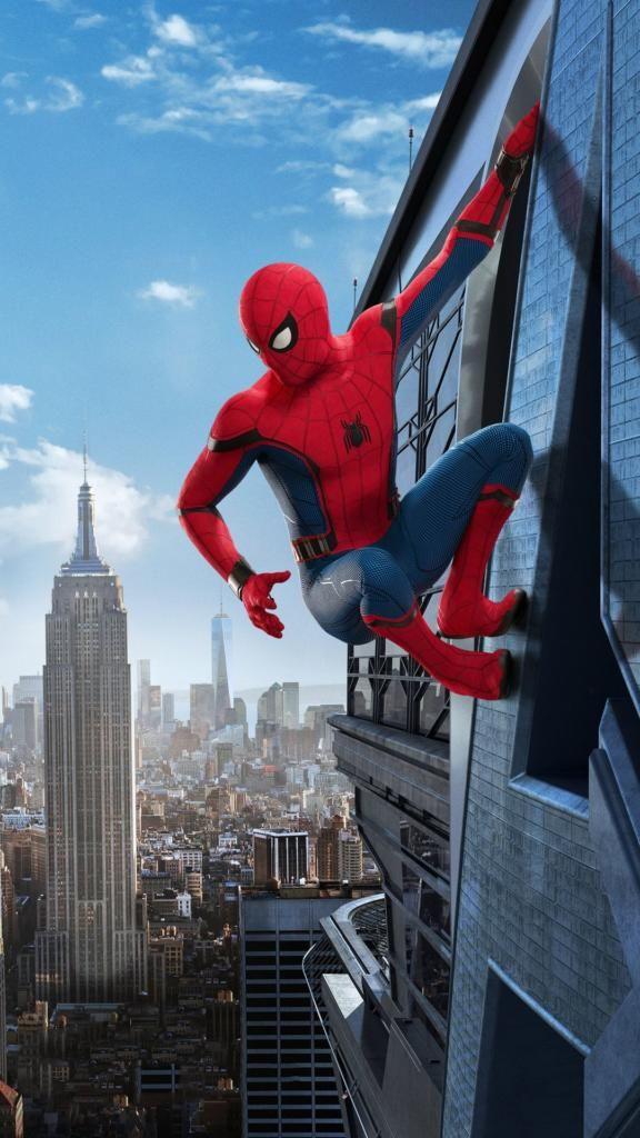 iPhone X 4K Wallpapers Spiderman Infinity War Download HD 576x1024