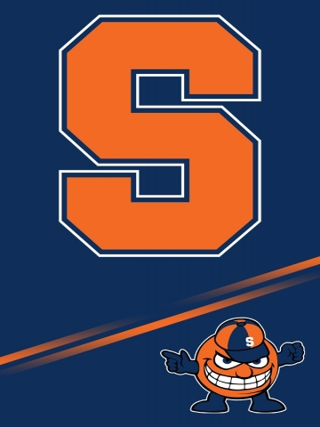 Syracuse Orange Wallpaper iPhone Blackberry 360x480