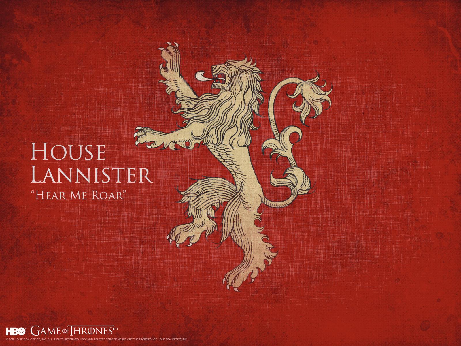 43] House Lannister Sigil Wallpaper on WallpaperSafari 1600x1200