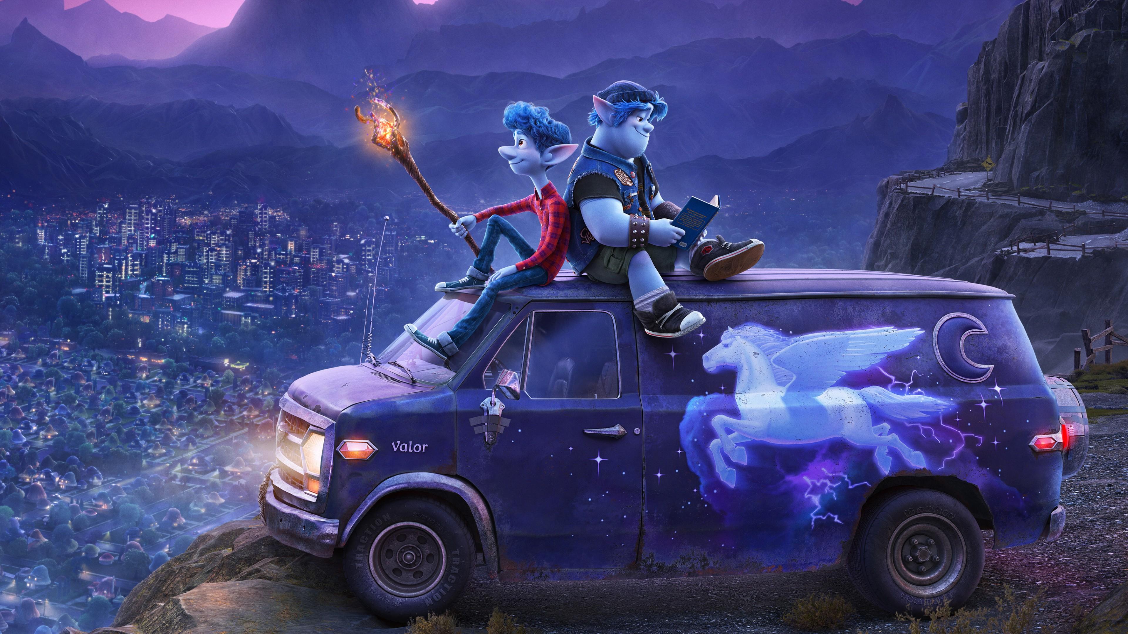 Onward 2020 Animation Pixar 4K Wallpapers HD Wallpapers 3840x2160