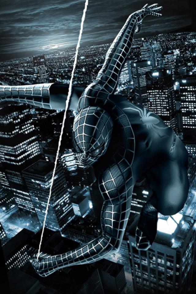 Black Spiderman Wallpaper Wallpapersafari
