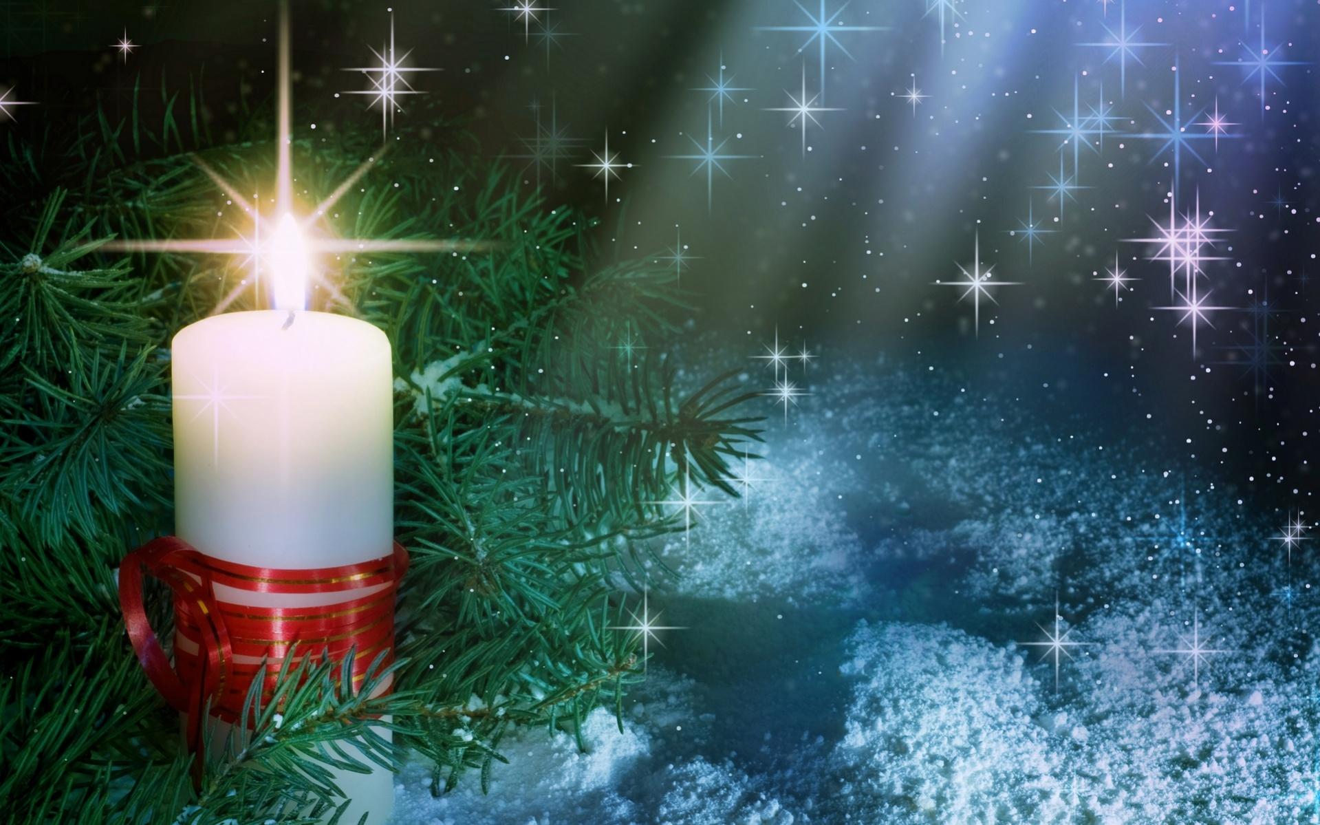 Christmas Winter Night 1919x1199