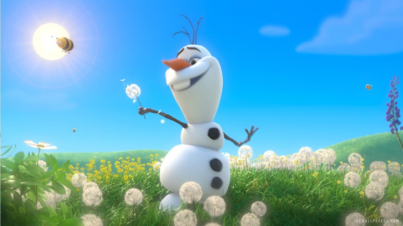 Frozen Olaf HD Wallpaper   iHD Wallpapers 1366x768