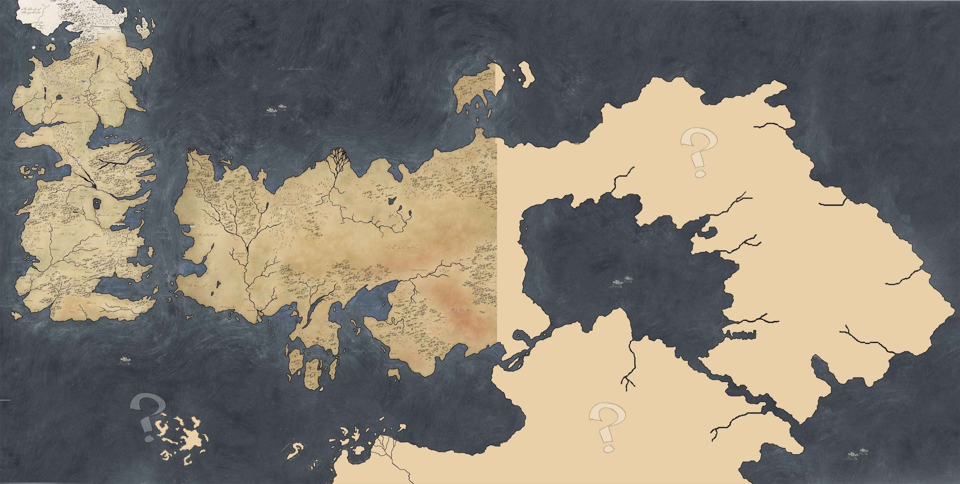 Westeros map wallpaper wallpapersafari westeros map plika map of ice and firejpg 3314x1670 gumiabroncs Image collections