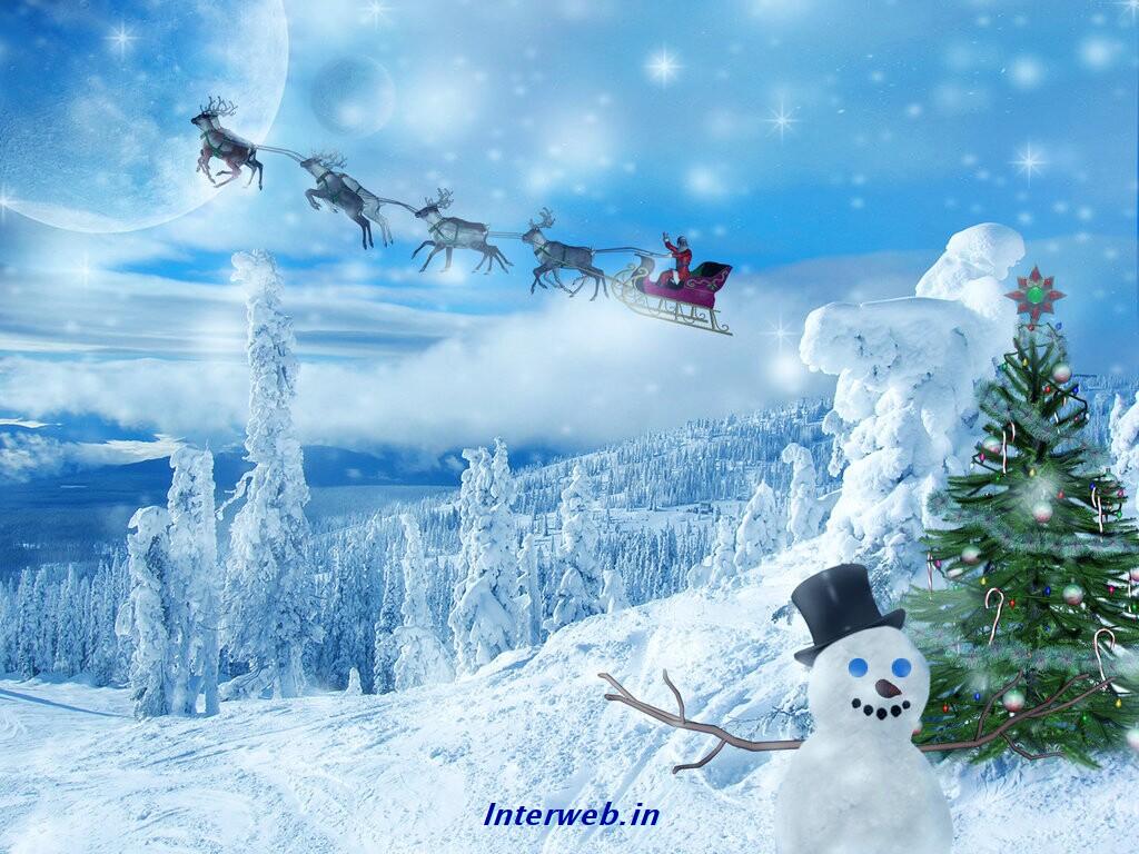 free christmas wallpaper - Free Desktop Wallpaper