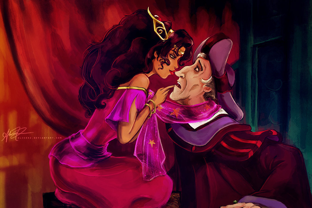 Frollo Esmeralda images My most grievous fault HD wallpaper and 1095x729