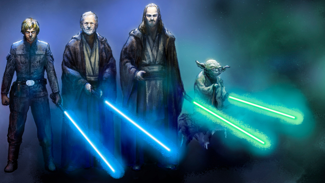 Star Wars Wallpaper   Jedi from Shadow of Death   hosted by Neoseeker 662x372