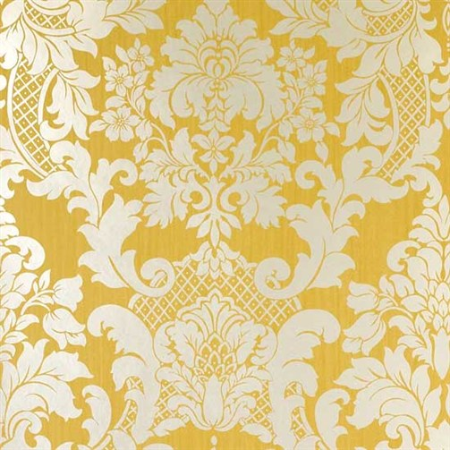 Yellow Wallpaper Customizing Walls by Decorating With Wallpaper 503x503