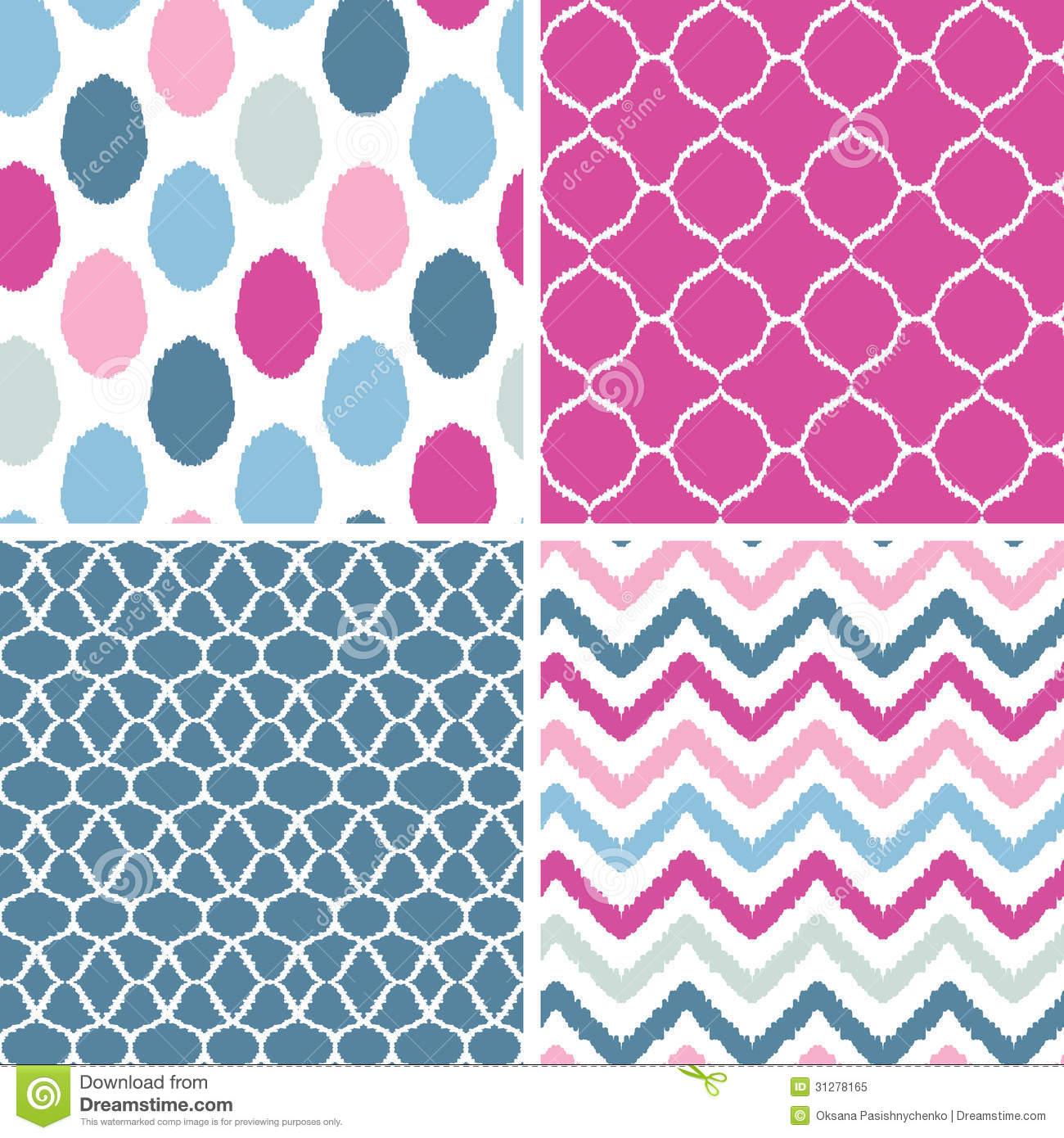 Pink Geometric Wallpap...