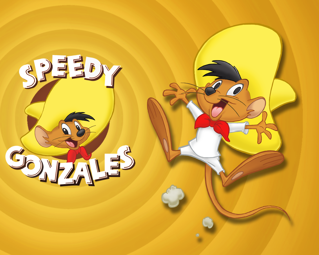 Cartoon Character Wallpaper Speedy Gonzales Cartoon Characters 1280x1024