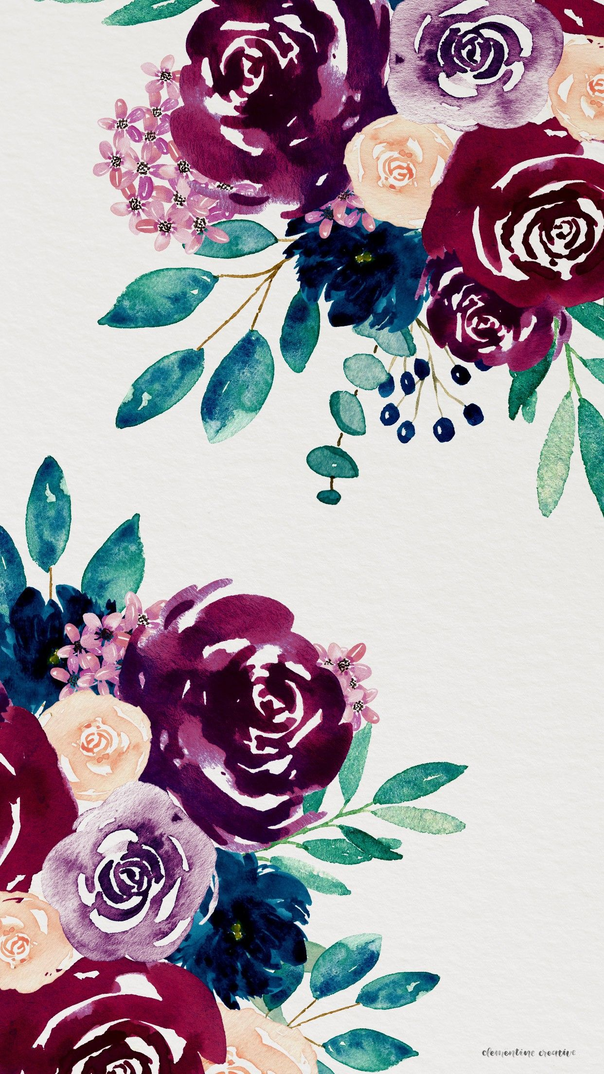 Pin by Danielle on Backgrounds Pretty phone backgrounds Flower 1242x2208
