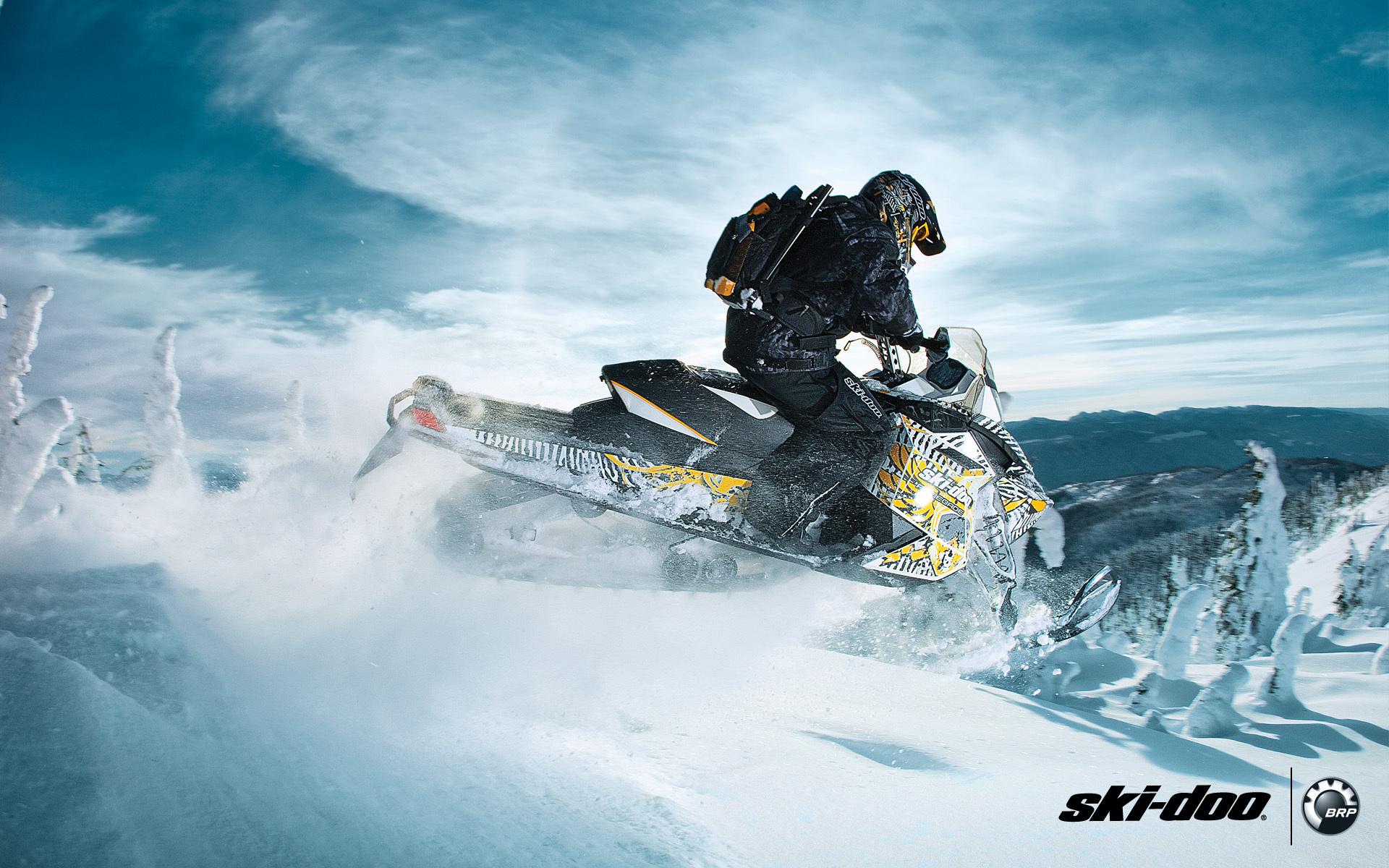 Ski doo ski doo renegade backcountry x 600 snowmobile snowmobile 1680x1050