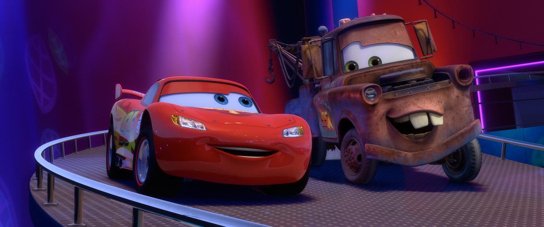 Mater and Lightning McQueen   Cars 2 Character Wallpaper Wallpaper 1500x626